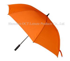 Orange Light High-Grade Golf Umbrella (OCT-G10FPC) pictures & photos