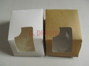 Kraft Cookie Boxes with Window (GD-CCB08) pictures & photos