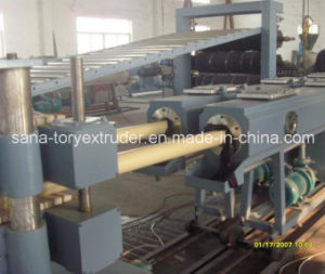 High Capacity Plastic PVC Water Supply Pipe Extrusion Production Line pictures & photos