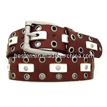 Fashion Studded Men Belts (BSD-11-094)