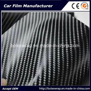 Black 4D Carbon Fiber Vinyl Sticker pictures & photos