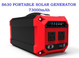 High Power 270wh Home Solar System Generator with Solar Panel pictures & photos