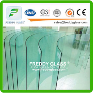 2-19mm Bevelled/Polished/Bent Clear Tempered/Toughened Safety Glass pictures & photos