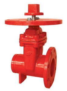 UL/FM 200psi Nrs Type Flanged Grooved Gate Valve pictures & photos