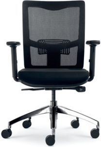 New Design Black Swivel Workstation Chair (FOH-XK14) pictures & photos