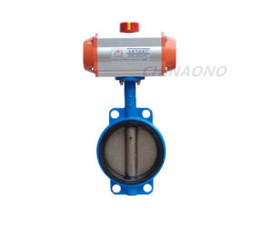 Pneumatic Soft Seal Stainless Steel Butterfly Valve pictures & photos
