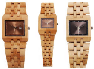 Fashion Men′s New Style Wooden Watch Bamboo Wrist Watch pictures & photos