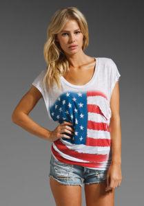 Women Viscose Fashion T-Shirt (WT000070) pictures & photos