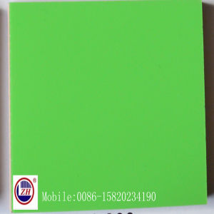 18mm Green UV MDF for Kitchen Cabinet Door (ZH-983) pictures & photos