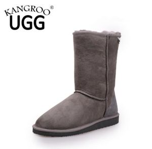 Fashion Women Sheepskin Short Snow Boots pictures & photos