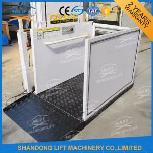 250kg Hydraulic Outdoor Aluminum Alloy Wheelchair Lift with Ce pictures & photos