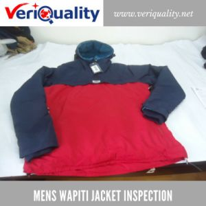 Mens Wapiti Jacket Quality Control Inspection Service at Jiangmen, Guangdong pictures & photos