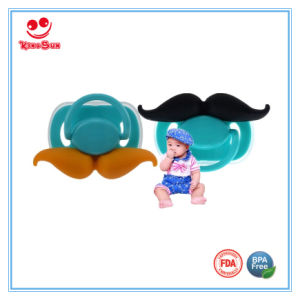 Funny Mustache Pacifier for Newborns pictures & photos