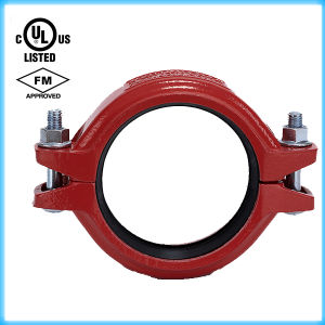 "UL Listed, FM Approval Ductile Iron Grooved Flexible Clamps 4""-114.3 pictures & photos"