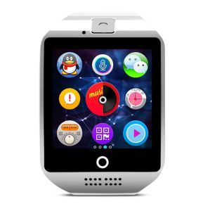 New Item Curved Screen Bend Screen SIM Card Slot Camera NFC Q18 Smart Watch pictures & photos