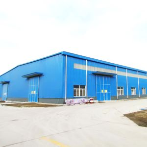 Galvanized Prefab Steel Frame Workshop (Steel Structure Construction) pictures & photos