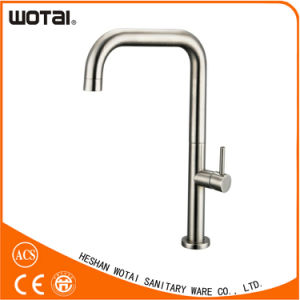 Wotai Single Lever Swivel Kitchen Faucet with Zinc Handle pictures & photos