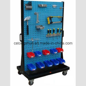 Metal Shelf with Punching Board for Tools pictures & photos