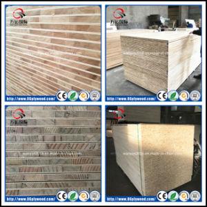 Furniture Grade Poplar/Pine/Paulownia/Malacca Falcata Core Melamine Blockboard pictures & photos