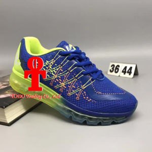 2017 Brand New 3D Series Men and Women′s Sole Air Cushion Running Shoes 36-44 Yards pictures & photos