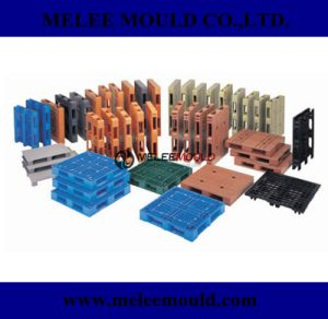 China Plastic Stackable Pallet Mould pictures & photos
