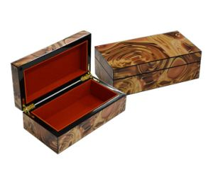 Glossy Wooden Perfume Storage Box pictures & photos