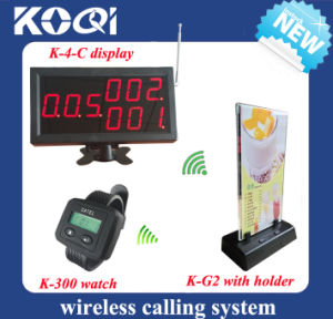 CE Approved 433.92MHz Restaurant Call System pictures & photos