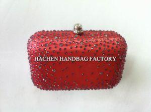 Ladies Evening Handbags Diamond Clousure (0871)