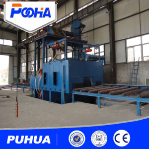 Shot Blasting Machine for Stainless Steel Mild Steel pictures & photos