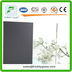 2mm Aluminum Mirror/Sheet Float Mirror/Bathroom Mirror/Decorative Mirror/Wall Mirror/Dressing Mirror/Makeup Mirror/Cosmetic Mirror with Double Coated-Dark Grey pictures & photos