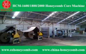 Hcm-1600 Automatic Honeycomb Core Making Machine pictures & photos