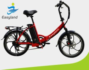 2017 20inch Electric Foldable Bicycle 36V10ah Battery EL-Dn2002z pictures & photos