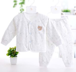 100% Cotton Long Sleeve Underwear Set with Cartoon Printing Baby Garment pictures & photos