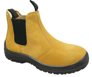 New Style Hot Sale Suede Leather Safety Shoes pictures & photos