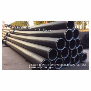 560mm HDPE Dredge Pipe with Flange for Dredging Project pictures & photos