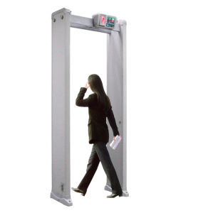 Cheap 4 Zone Walk Through Metal Detector for Hotel pictures & photos