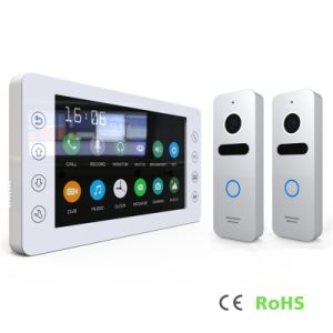 7 Inches Intercom Home Security Interphone Video Door Phone with Memory pictures & photos