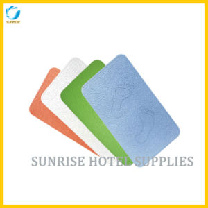 Rectangular Rubber Non-Slip Bath Mat for Hotel pictures & photos