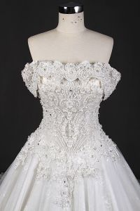 High Quality Beads Lace Prom Ball Bridal Wedding Dresses pictures & photos