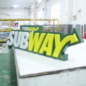 Shop Front Advertising Acrylic Vacuum Forming Light Box pictures & photos