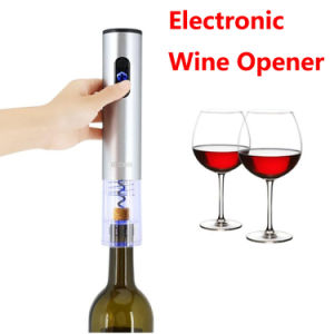 Electronic Wine Opener Gift Set Foil Cutter Stopper Rechargeable Stainless Steel Bottle Opener pictures & photos