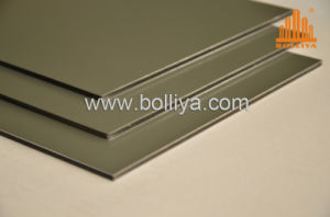 Silver Gold Golden Mirror Brush Acm Signage Material for Shop Front pictures & photos