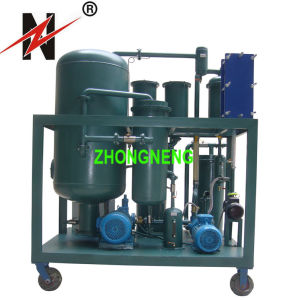 Zn High Vacuum Lubricating Oil Purifier Machine for Used Hydraulic Oil pictures & photos