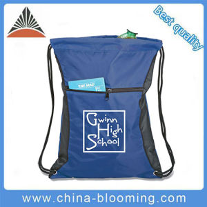 Newest Fashion Cheaper 210d Polyester Drawstring Backpack Bag pictures & photos