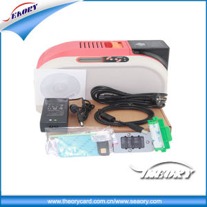 Contact IC Smart Card/Magnetic Stripe Card/Plastic Card Printer/ Printing Machine for Printing School ID Card pictures & photos
