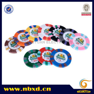 9.5g 3color Pure Clay Dunes Sticker Chip (SY-C06-1) pictures & photos