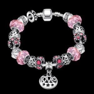 Promotional Gift Glass Round Beads Adjustable Bracelet Jewelry pictures & photos
