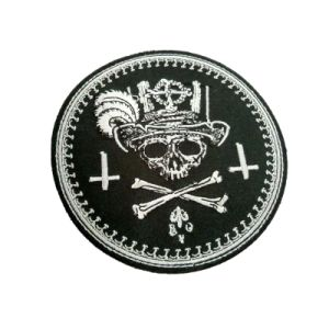 Custom Applique Embroidered Woven Fabric Embroidery Patch Chenille Patch (YB-LY-P-10) pictures & photos