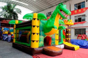 Dino Park Inflatable Jumping Castle Combo Chb727 pictures & photos