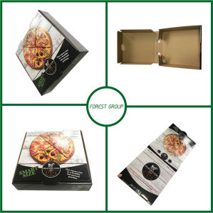 Colorful Food Grade Paper Pizza Box pictures & photos